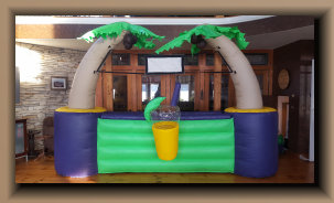 inflatable counter bar