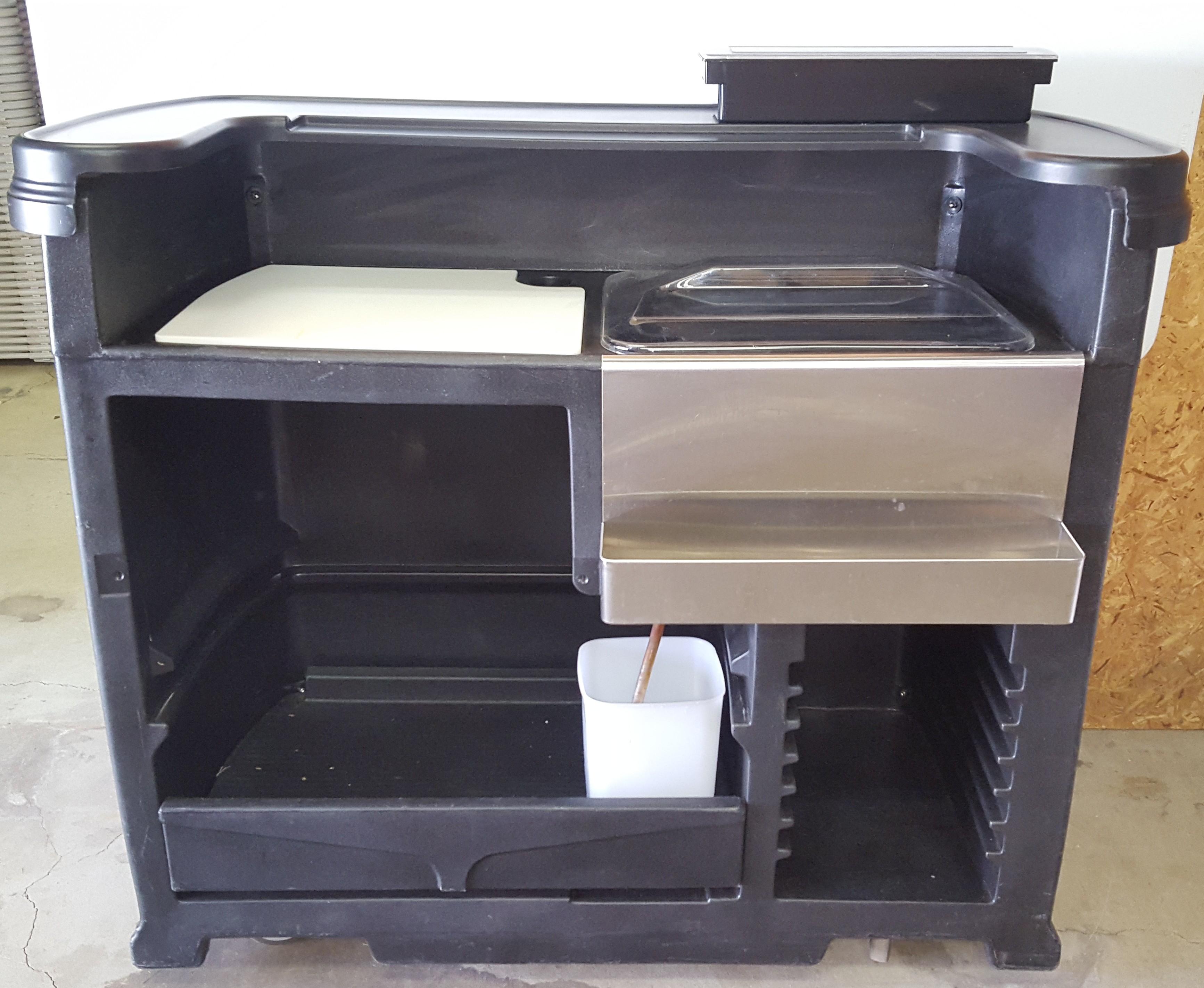 Garbage cans coolers sidewalls keg coolers generators for Porta john rental